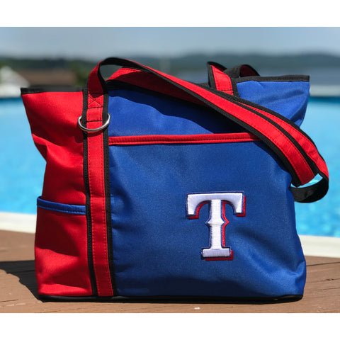 Texas Rangers Carryall Tote - Charm14