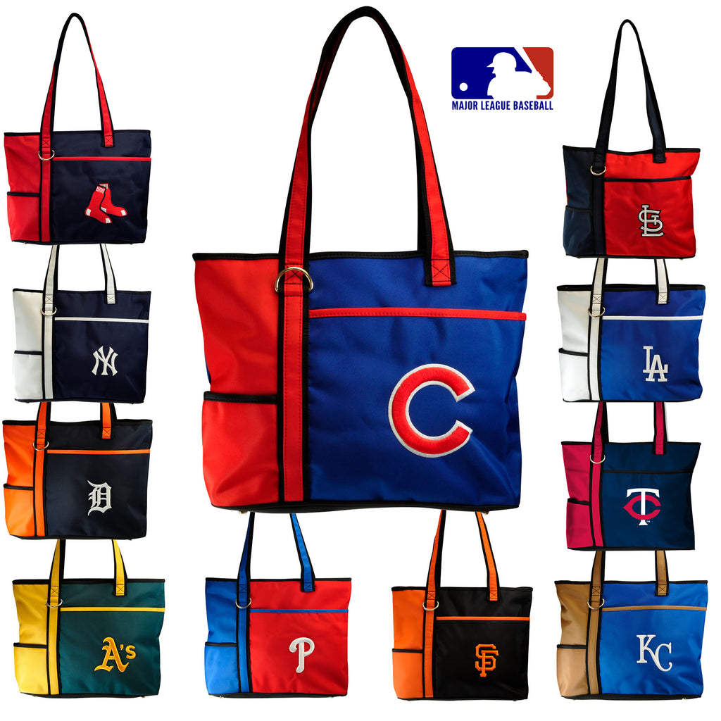 10b37c877 MLB Women's Tote Bag with Embroidered Logo by Little Earth- All Teams  Available ...