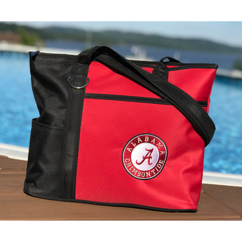 Alabama Crimson Tide Carryall Tote Bag - Charm14