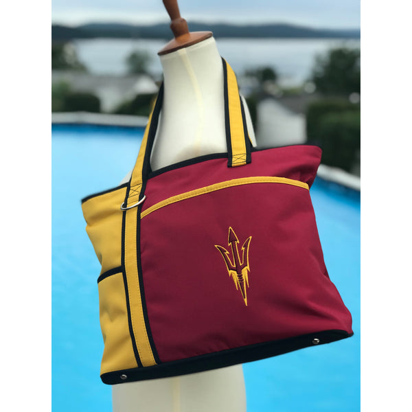 Arizona State Sun Devils Carryall Tote - Charm14