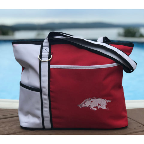 Arkansas Razorbacks Carryall Tote - Charm14
