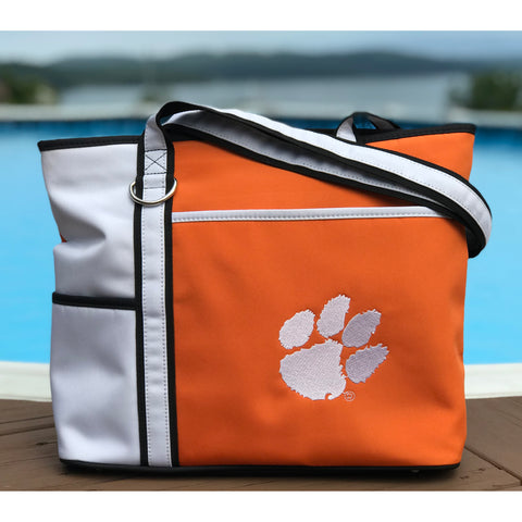 Clemson Tigers Carryall Tote - Charm14