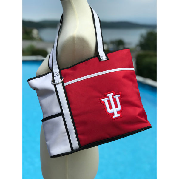 Indiana Hoosiers Carryall Tote - Charm14