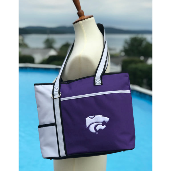 Kansas State Wildcats Carryall Tote - Charm14