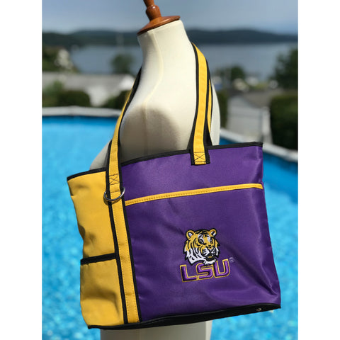 LSU Tigers Carryall Tote