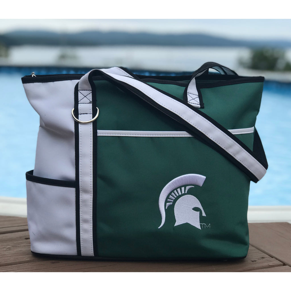 Michigan State Spartans Carryall Tote - Charm14