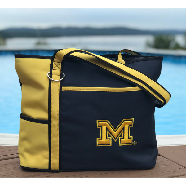 Michigan Wolverines Carryall Tote - Charm14