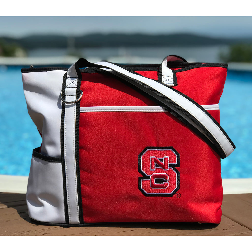 North Carolina State Wolfpack Carryall Tote - Charm14