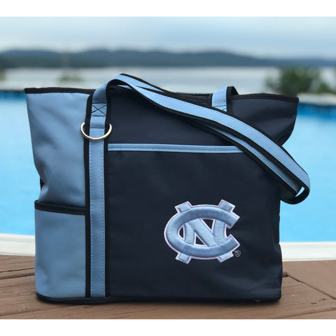 North Carolina Tar Heels Carryall Tote - Charm14