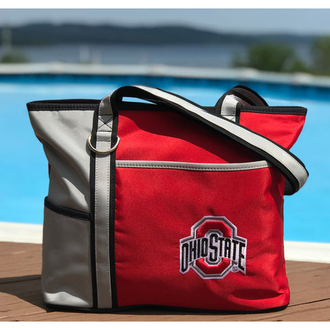 Ohio State Buckeyes Carryall Tote - Charm14