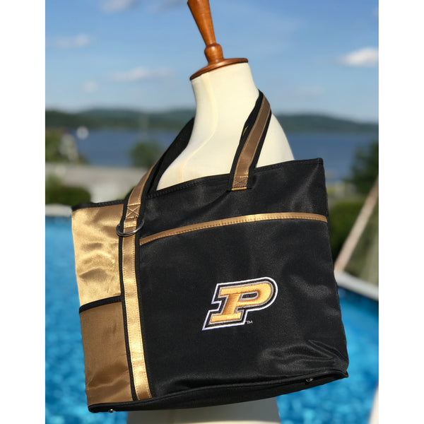 Purdue Boilermakers Carryall Tote - Charm14