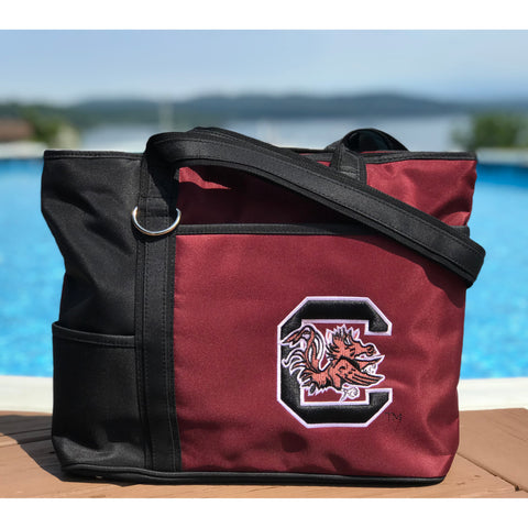 South Carolina Gamecocks Carryall Tote - Charm14