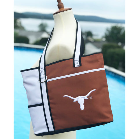 Texas Longhorns Carryall Tote - Charm14