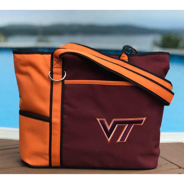 Virginia Tech Hokies Carryall Tote - Charm14
