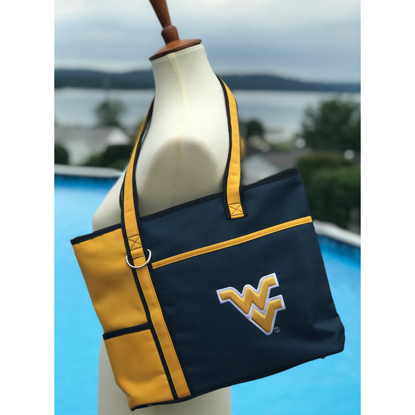 West Virginia Mountaineers Carryall Tote - Charm14