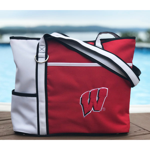 Wisconsin Badgers Carryall Tote - Charm14