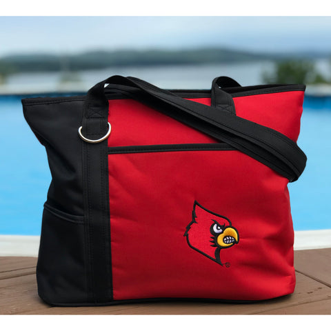 Louisville Cardinals Carryall Tote - Charm14
