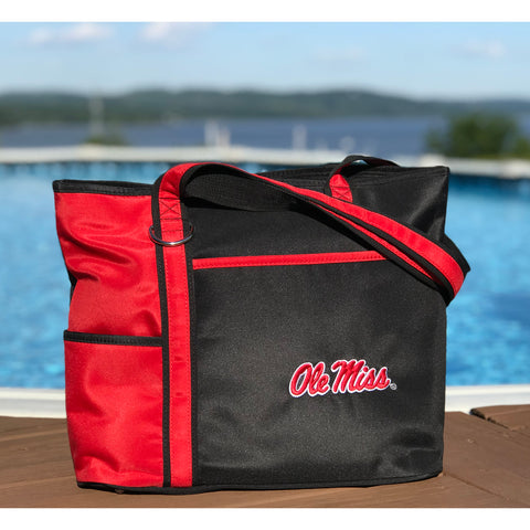 Ole Miss Rebels Carryall Tote - Charm14