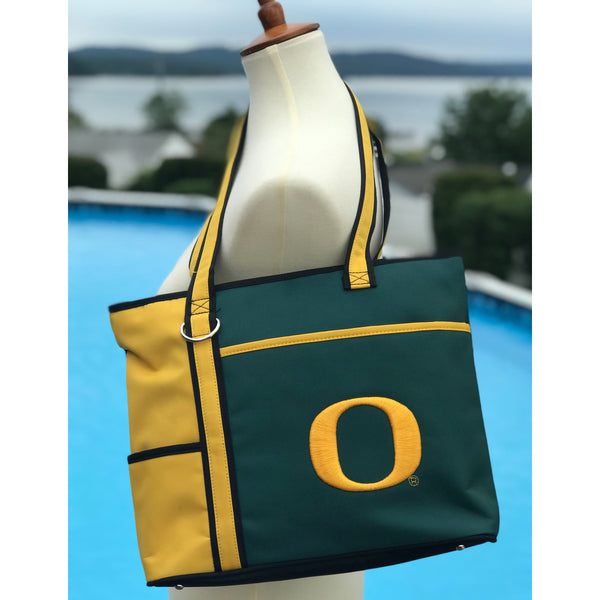 Oregon Ducks Carryall Tote - Charm14