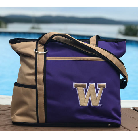 Washington Huskies Carryall Tote - Charm14