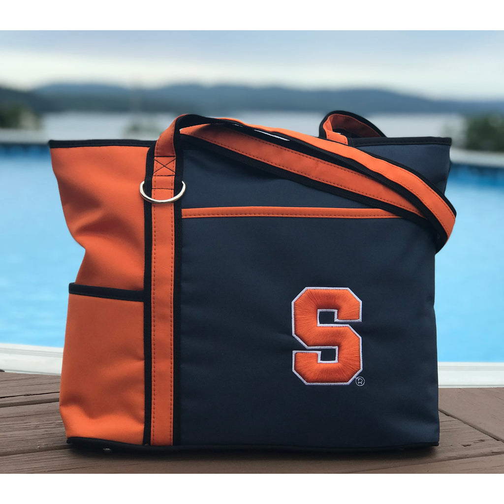 Syracuse Orange Carryall Tote - Charm14