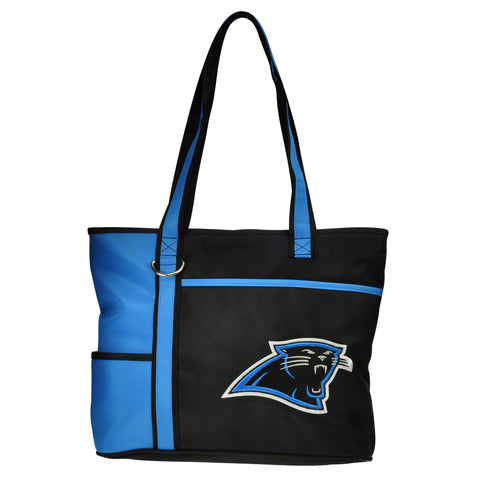 Carolina Panthers Tote Bag with Embroidered Logo - Charm14