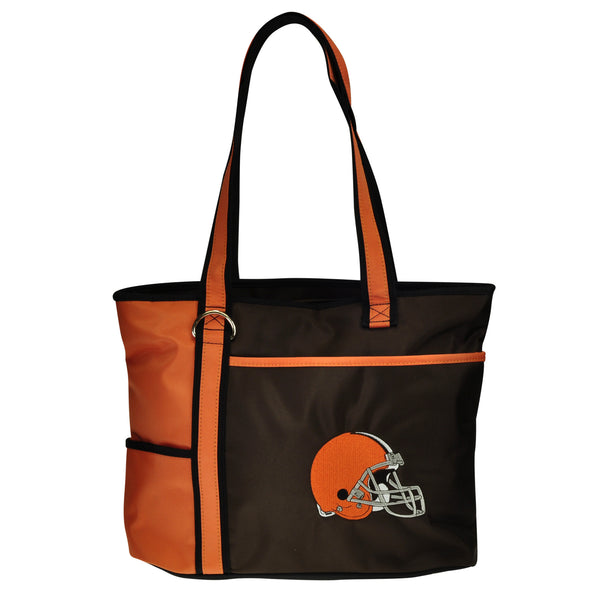 Cleveland Browns Tote Bag with Embroidered Logo - Charm14