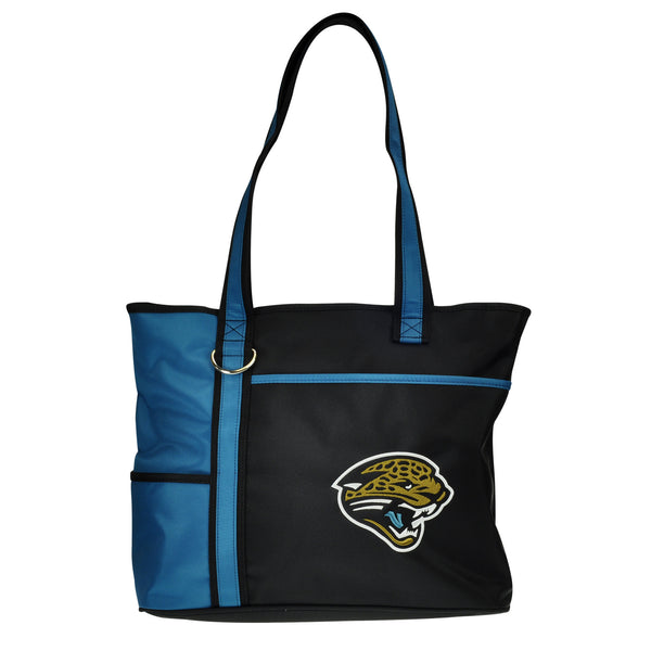 Jacksonville Jaguars Tote Bag with Embroidered Logo - Charm14