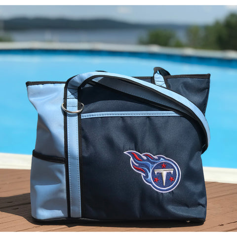 Tennessee Titans Tote Bag with Embroidered Logo - Charm14
