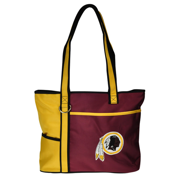 Washington Redskins Tote Bag with Embroidered Logo - Charm14