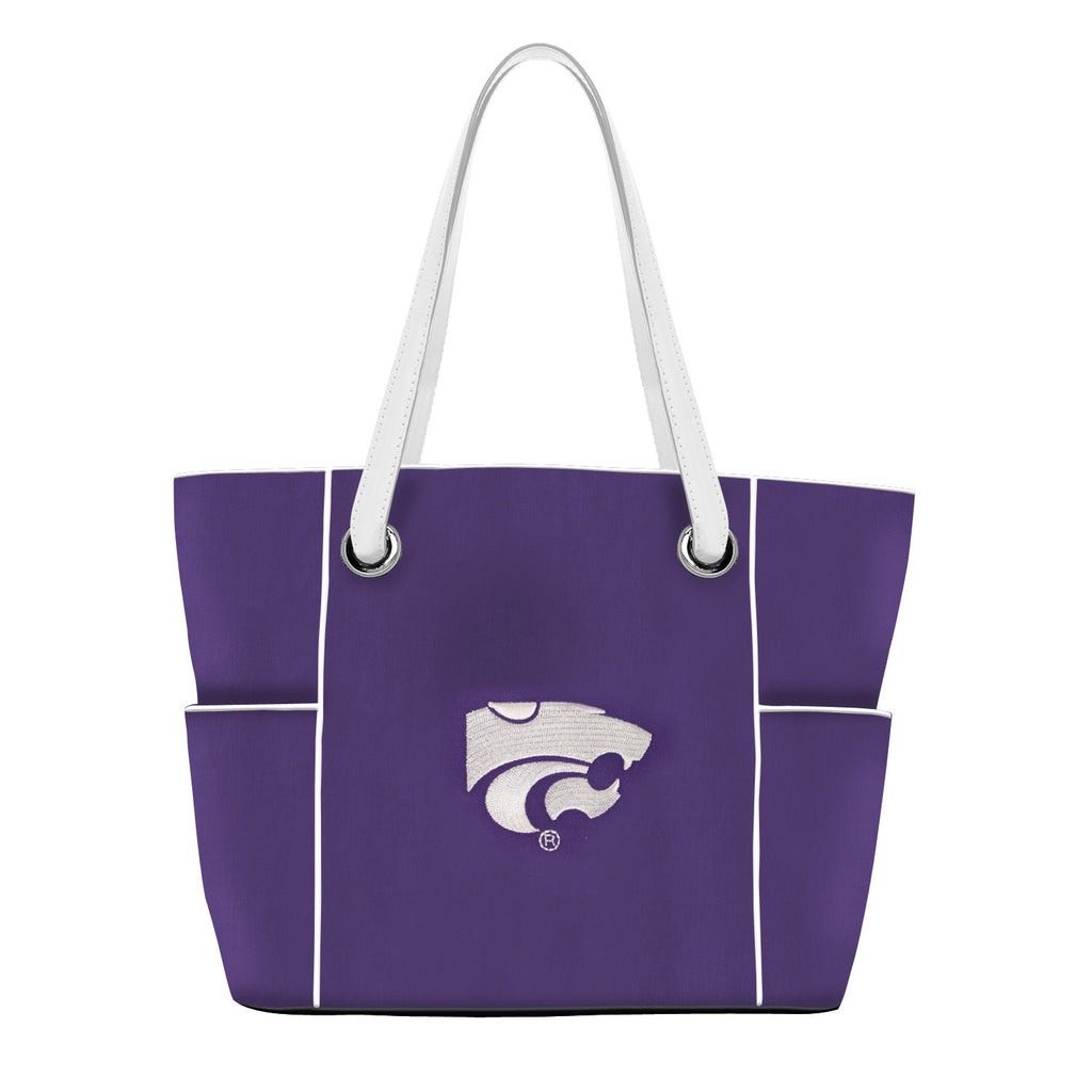 NCAA Kansas State Wildcats Deluxe Tote - Charm14