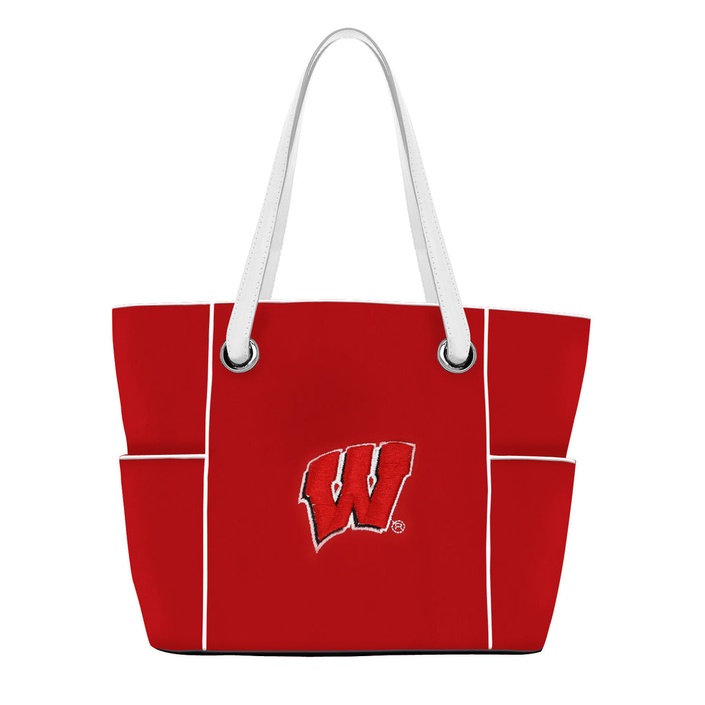 NCAA Wisconsin Badgers Deluxe Tote - Charm14