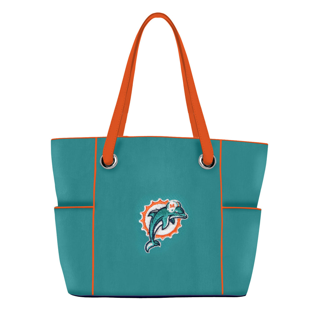 Miami Dolphins Deluxe Tote - Charm14