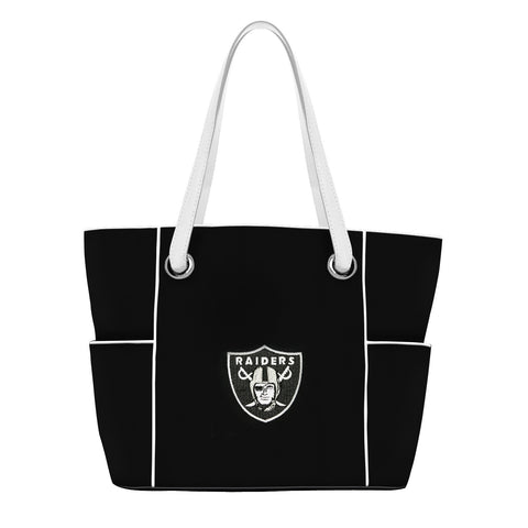 Oakland Raiders Deluxe Tote - Charm14