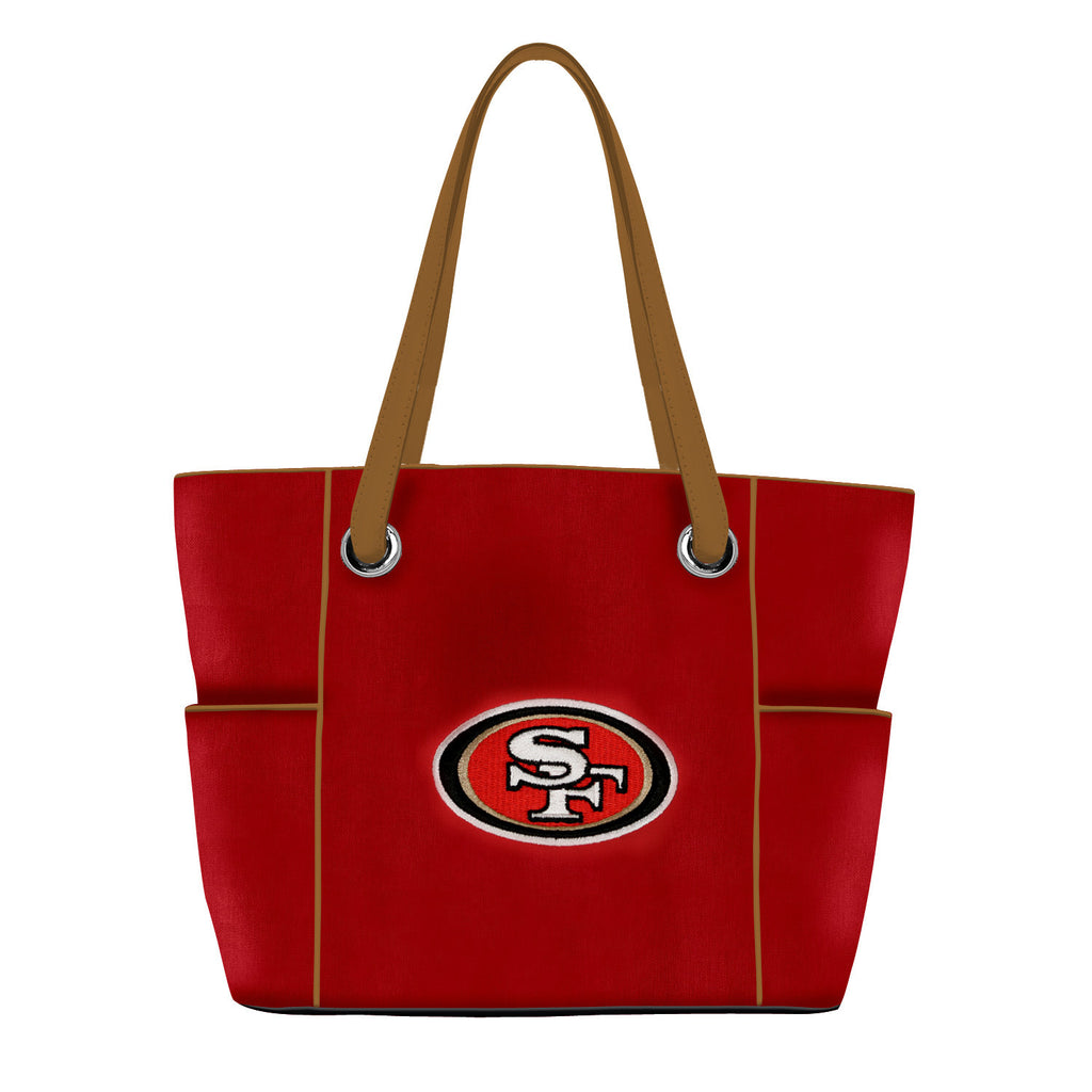 San Francisco 49ers Deluxe Tote - Charm14