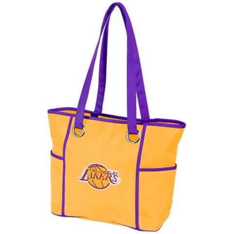 Los Angeles Lakers Deluxe Tote - Charm14