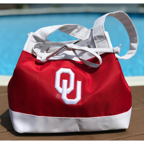 Oklahoma Sooners Lunch Tote - Charm14