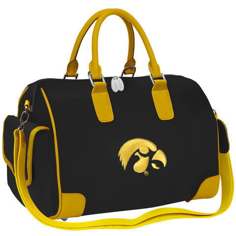 NCAA Iowa Hawkeyes Deluxe Handbag