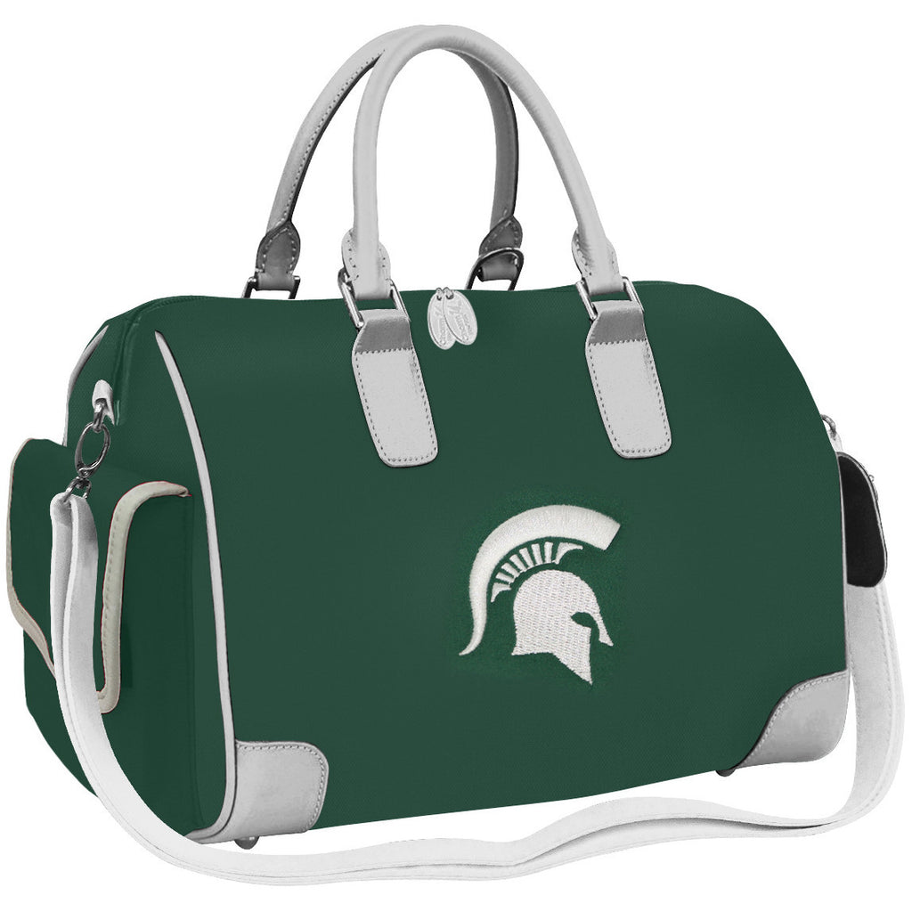 NCAA Michigan State Spartans Deluxe Handbag - Charm14