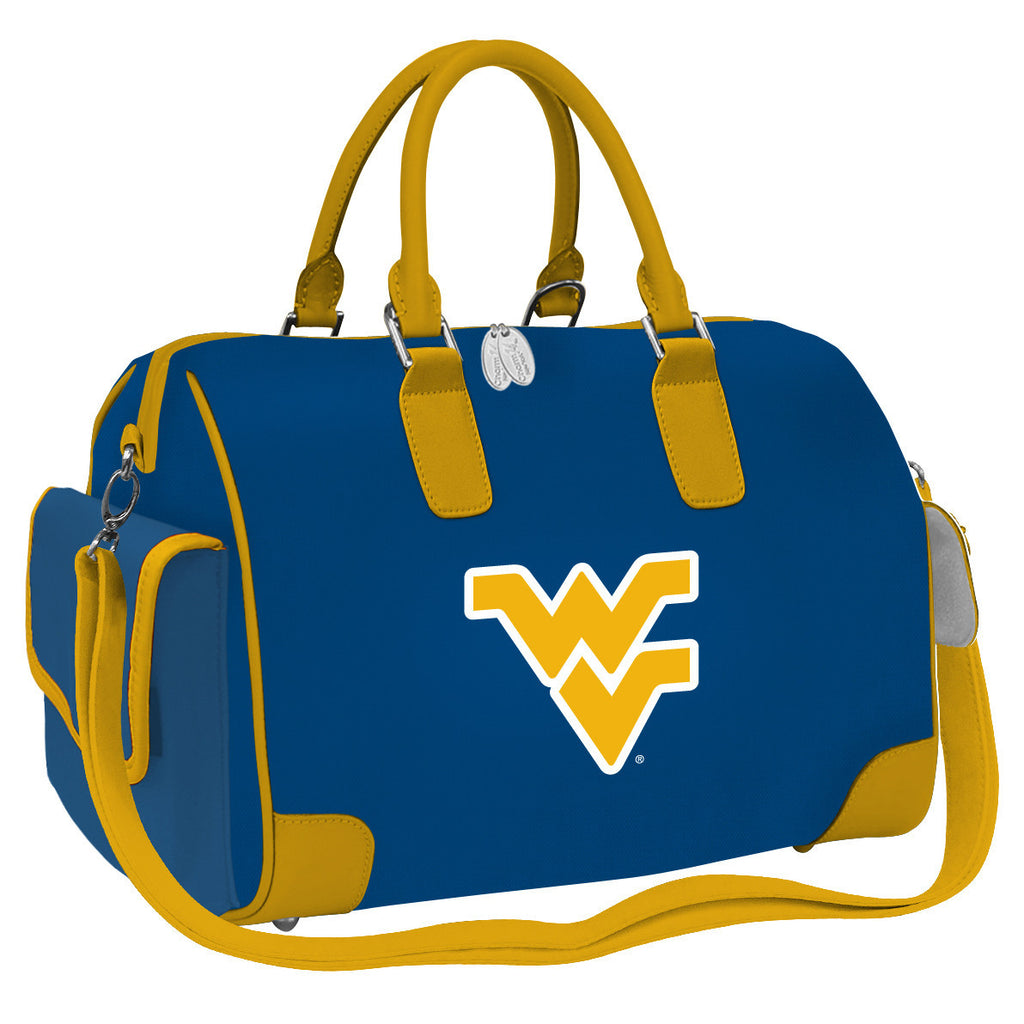 NCAA West Virginia Mountaineers Deluxe Handbag - Charm14