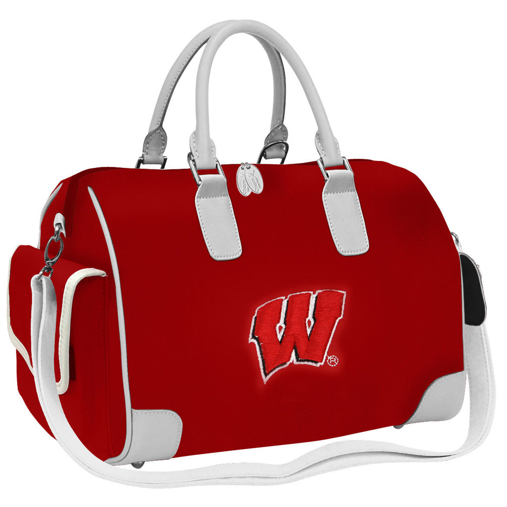 NCAA Wisconsin Badgers Deluxe Handbag - Charm14
