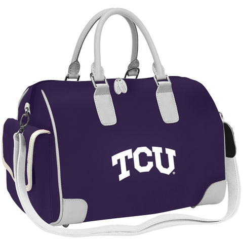NCAA TCU Horned Frogs Deluxe Handbag - Charm14