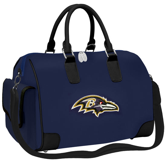 NFL Deluxe Designer Handbag with Embroidered Logo by Little Earth - Charm14