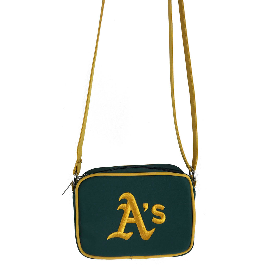 MLB Oakland Athletics Crossbody with Smartphone Touchscreen - Charm14