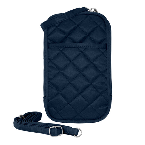 Cell Phone Purse - Navy PursePlus Quilt with Touchscreen - Charm14