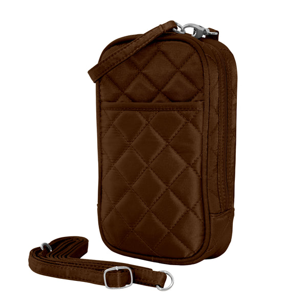 Cell Phone Purse - Chocolate PursePlus Quilt with Touchscreen - Charm14