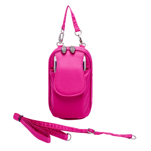 Cell Phone Purse - Fuscia PursePlus XL with Touchscreen - Charm14