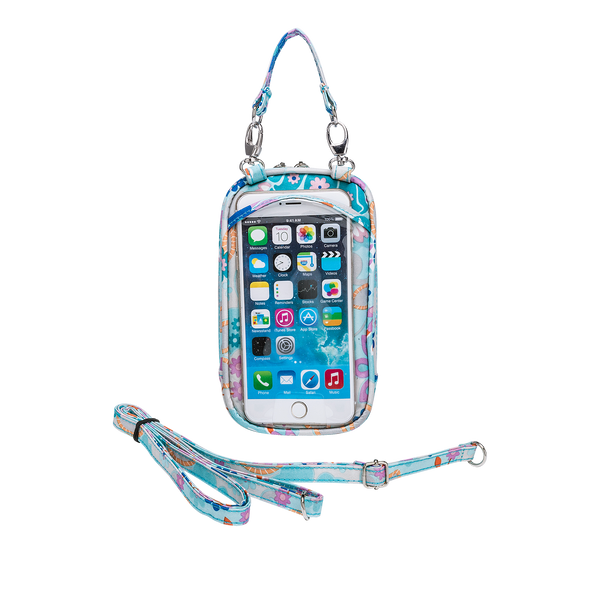 Cell Phone Purse - Bloom PursePlus XL with Touchscreen - Charm14