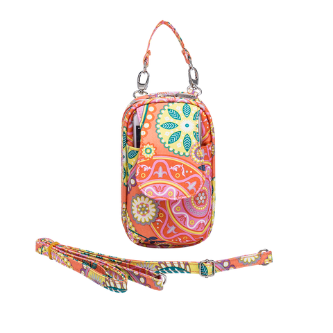 Cell Phone Purse - Boho Girl PursePlus XL with Touchscreen - Charm14