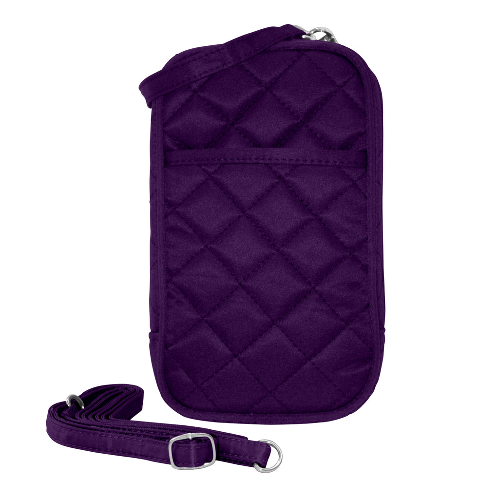 Cell Phone Purse - Grape PursePlus Quilt with Touchscreen - Charm14